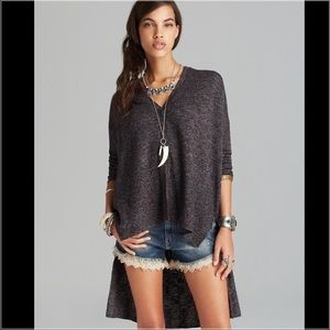 Free People TGIF Marley Hi Low Cardigan Sweater